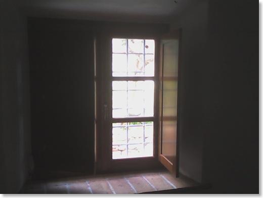 La storia del casale for Scurini per finestre
